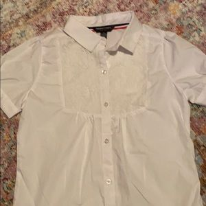 Girls' White blouse